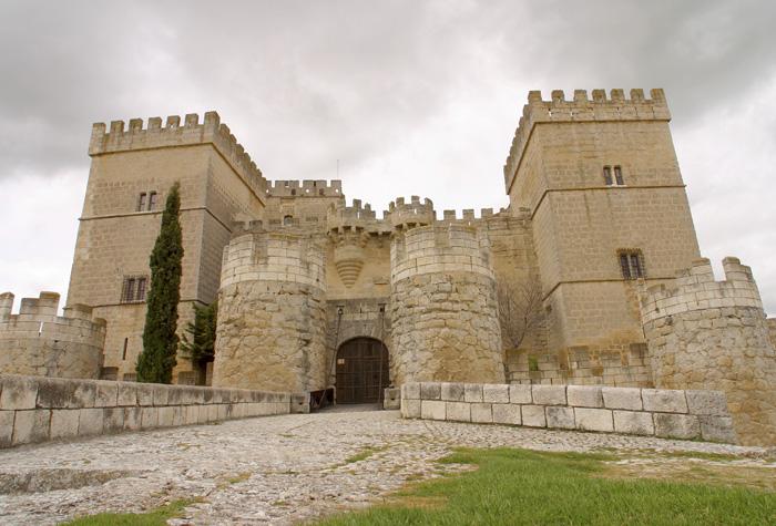 CASTILLO DE AMPUDIA 1 - Riqueza monumental de Castilla y León