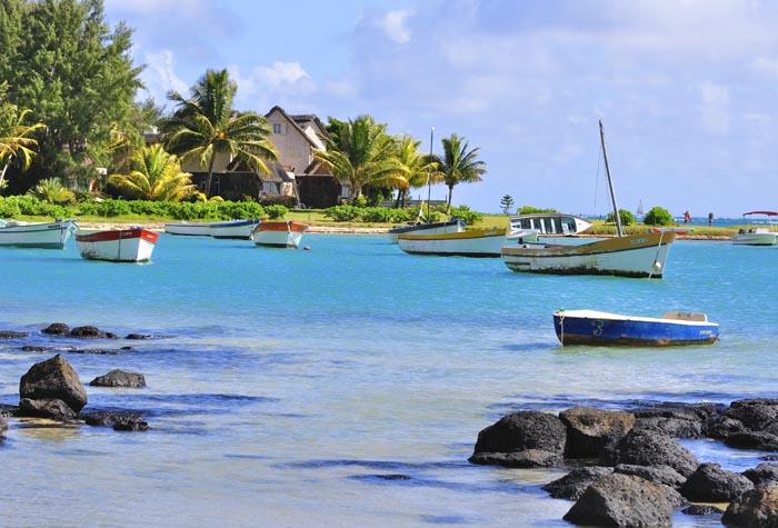 costa noroeste isla mauricio