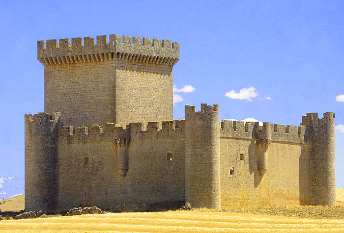 Castillo de VILLALONSO 1 - Riqueza monumental de Castilla y León