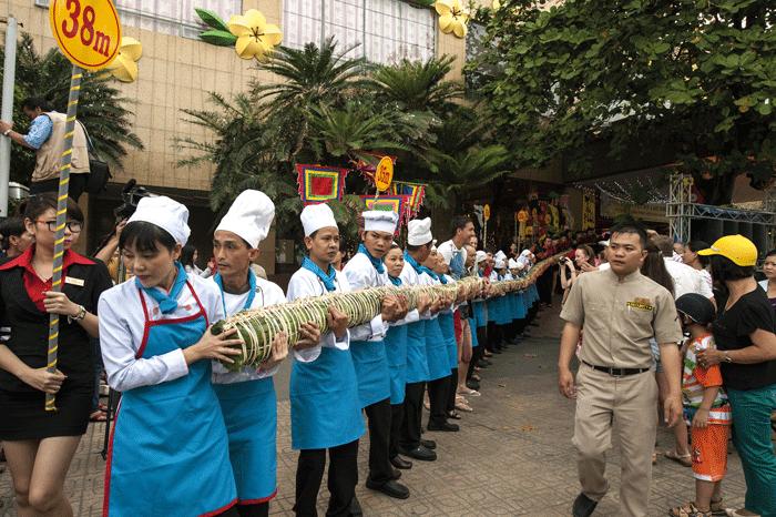 año nuevo lunar en Vietnam