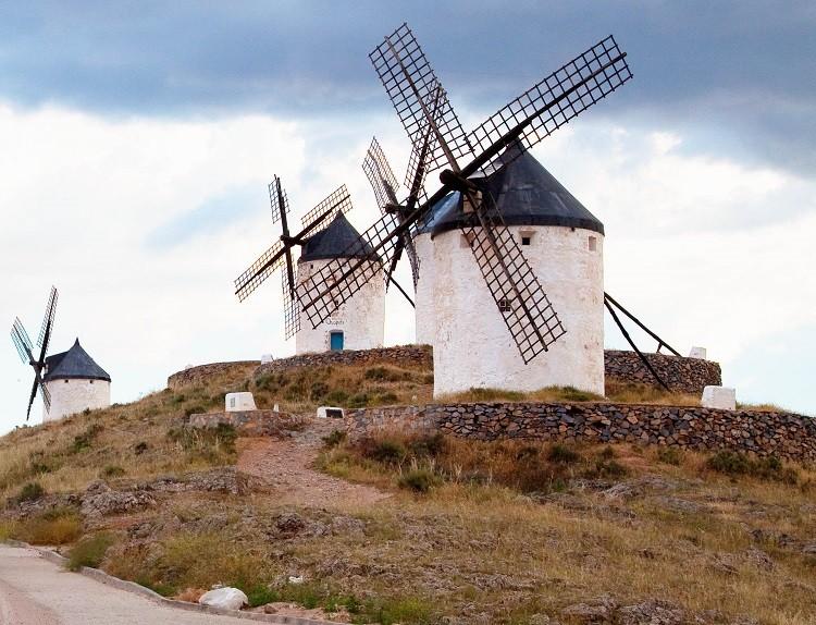 España Molinos  - Ciudades y villas medievales de España