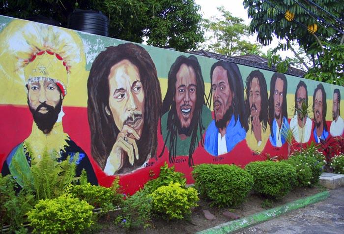 Kingston bob marley 1 - Jamaica, al ritmo de las palmeras