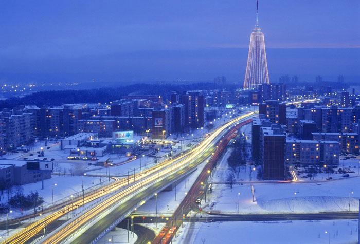 Vilnius lituania 2 - Un viaje de blanco y nieve por Europa