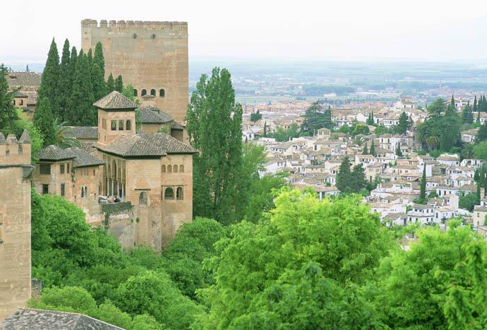 alhambra granada vistas 1 - Descubre la espectacular Alhambra de Granada