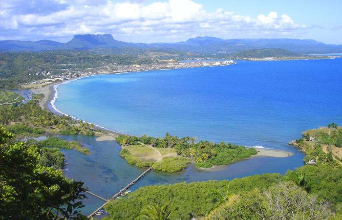 baracoa vista aerea 1 - Baracoa, la ciudad primada de Cuba