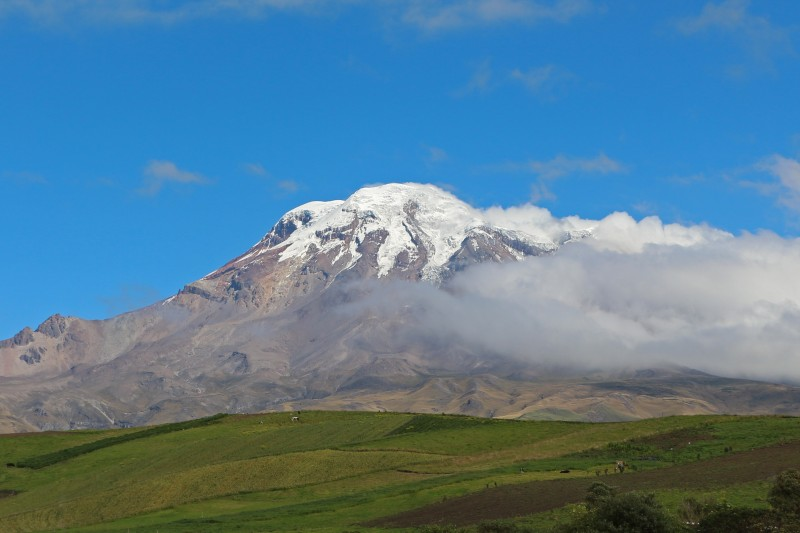 chimborazo ecuador volcan - La Avenida de los volcanes