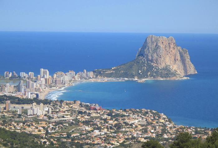 costa blanca vista panoramica 1 - Costa Blanca, toda la riqueza del Mediterráneo