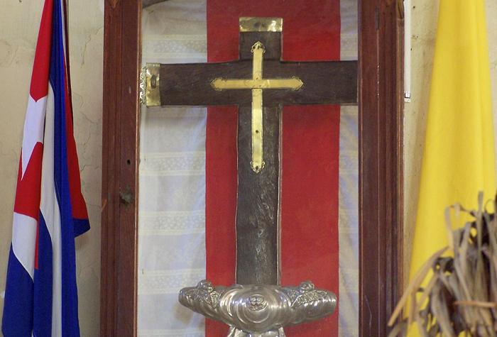 cruz de parra 1 - Baracoa, la ciudad primada de Cuba