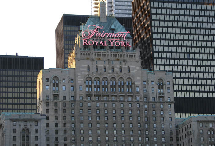 famosas hoteles The Fairmont Royal York 1 - Hoteles en los que duermen las famosas del momento