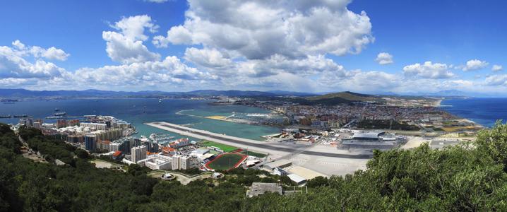 gibraltar panoramica 1 - Gibraltar, la famosa Roca del Estrecho