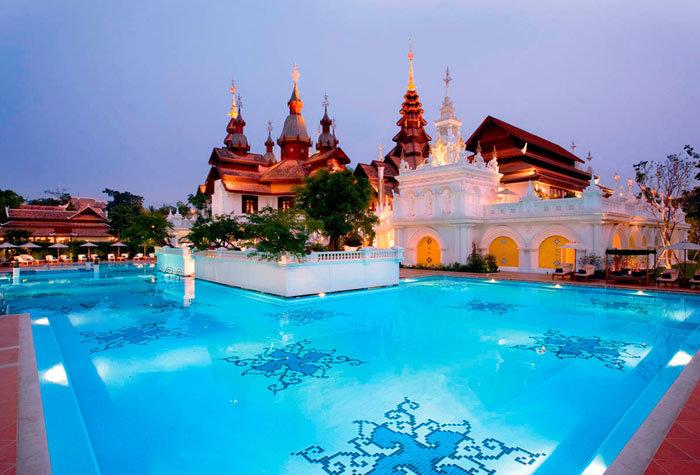 hotel mandarin oriental dhara dhevi 1 - Un paseo por las mejores piscinas del mundo