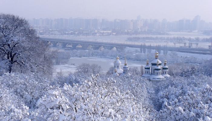 kiev nevado 1 - Un viaje de blanco y nieve por Europa