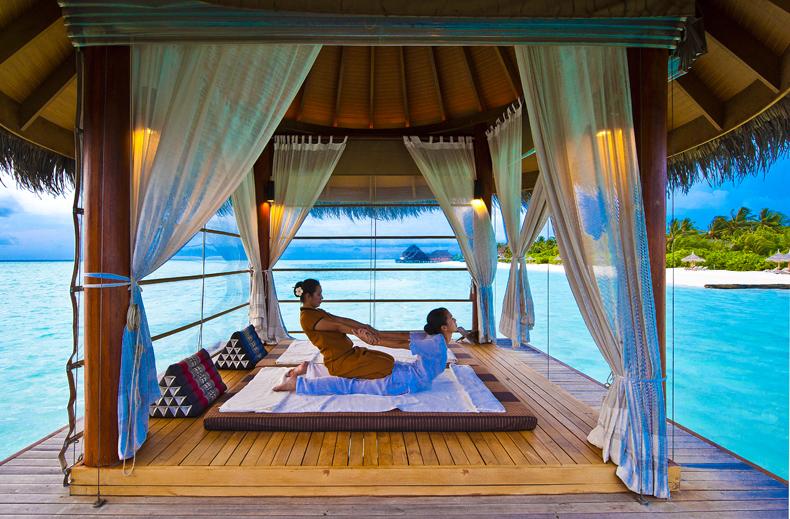 masaje Maldivas