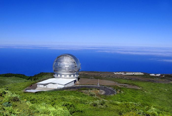 observatorio del roquede los muchachos