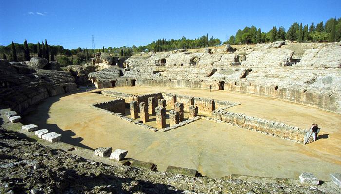 sevilla anfiteatro italica