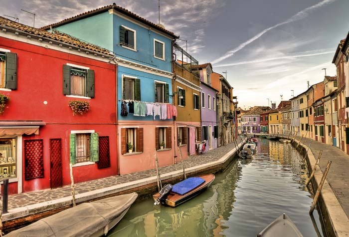 Burano Islas de la Laguna de Venecia