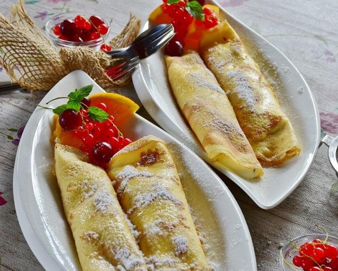 crepes de fresa - Crepes de fresa sencillos y rápidos
