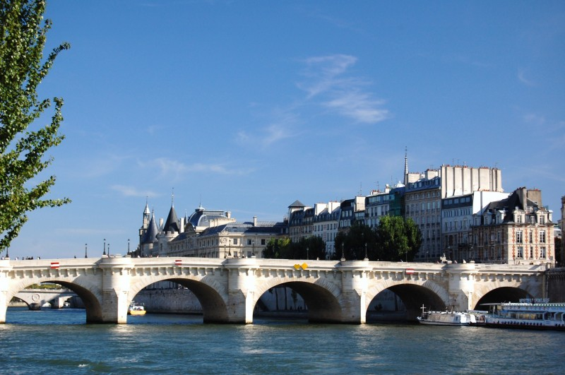 sena puente rio - Ruta de los impresionistas navegando por el Sena