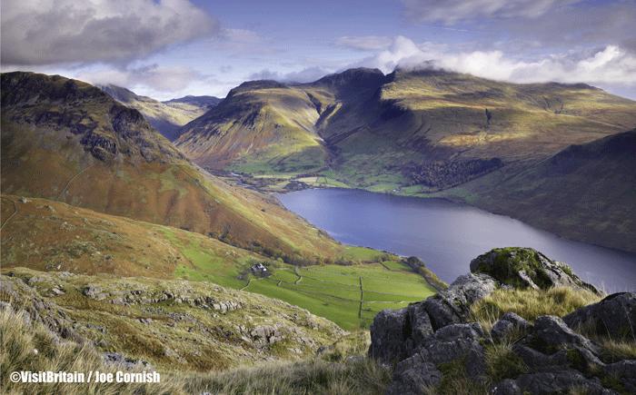 Lake District WastWater Cumbria ©VisitBritain  Joe Cornish - Rincones con encanto en Gran Bretaña