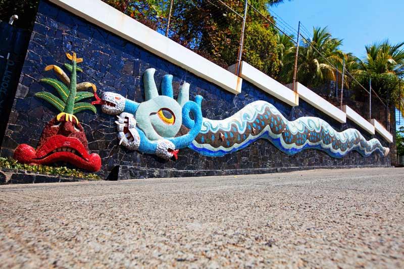 MURAL DIEGO RIVERA 02 Acapulco - Construyendo el Nuevo Acapulco