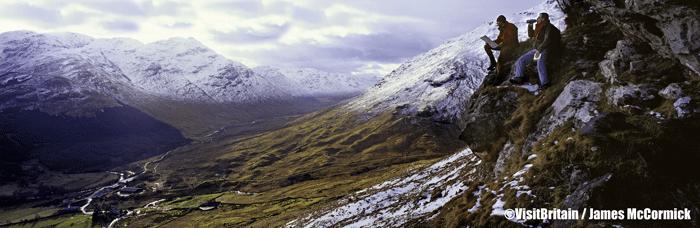 Trossachs National Park Perthshire ©VisitBritain  James McCormick - Rincones con encanto en Gran Bretaña