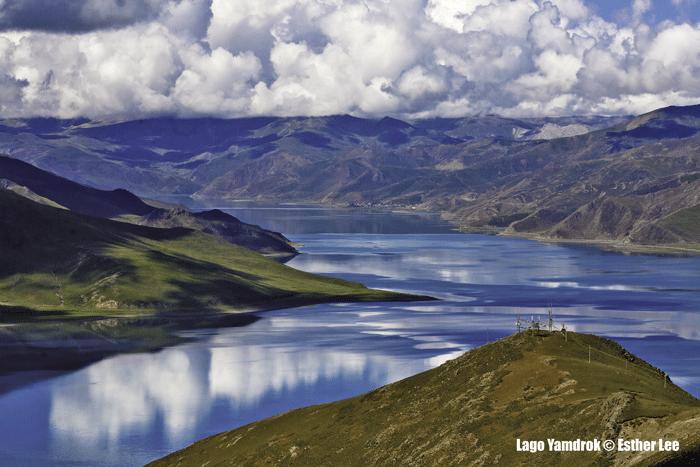 Yamdrok Lake © Esther Lee - Lago Yamdrok, el reflejo sagrado del Tíbet