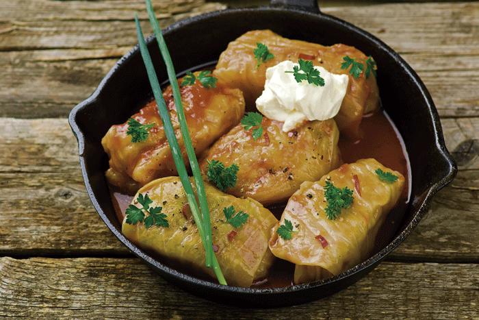Cabbage Rolls 002 - y en Serbia se come... Rollitos de col «sarma»