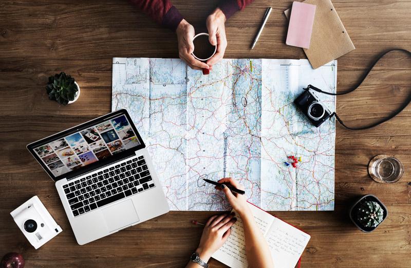 Mapa. Elegir Destino. Open Comunicacion - Cómo conseguir que tu viaje sea bueno, bonito y barato