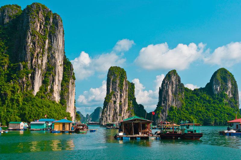 Vietnam. Evaneos - El TOP 5 de los destinos lejanos del verano