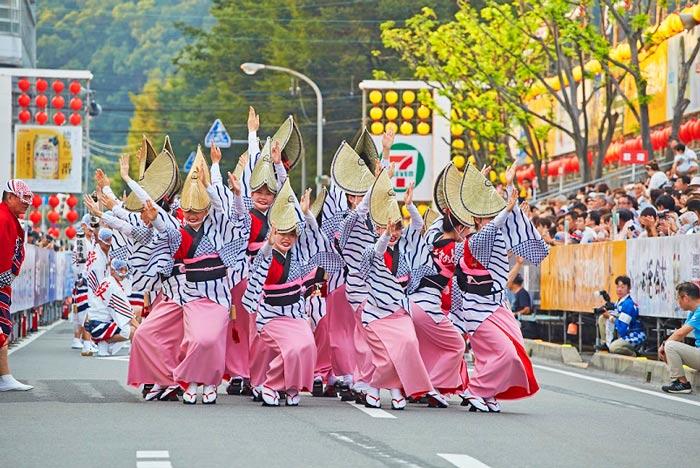 Japon Kioto Awa Dori Festival Danza © JNTO - Kioto: un verano de festival en Japón