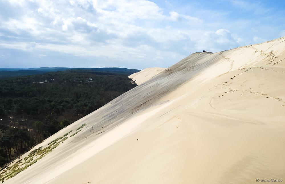 Oscar Blanco. La duna improbable. Relatos viajero.14 - LA DUNA IMPROBABLE