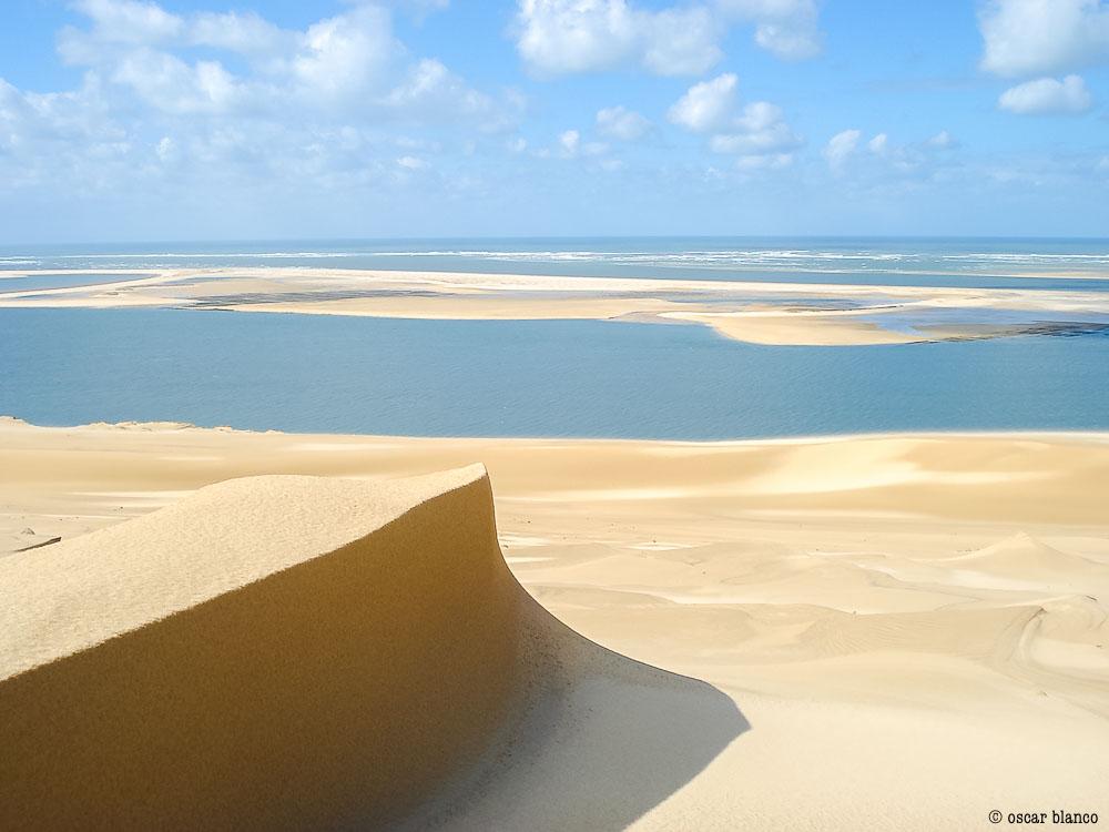 Oscar Blanco. La duna improbable. Relatos viajero.16 - LA DUNA IMPROBABLE