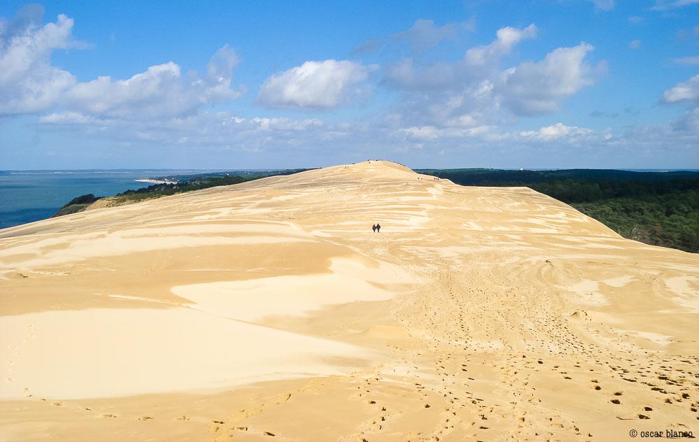 Oscar Blanco. La duna improbable. Relatos viajero.17 - LA DUNA IMPROBABLE