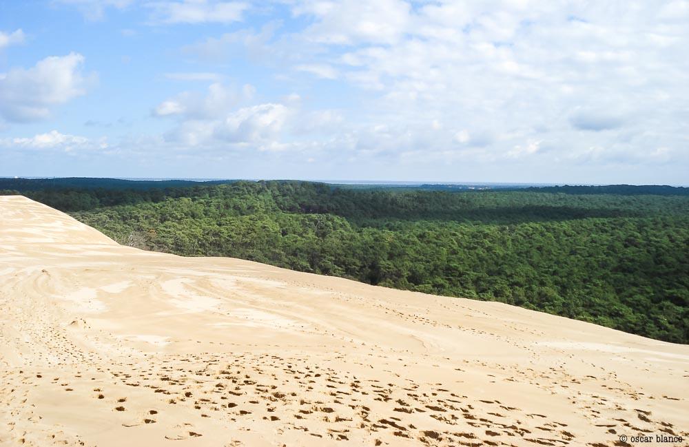 Oscar Blanco. La duna improbable. Relatos viajero.7 - LA DUNA IMPROBABLE