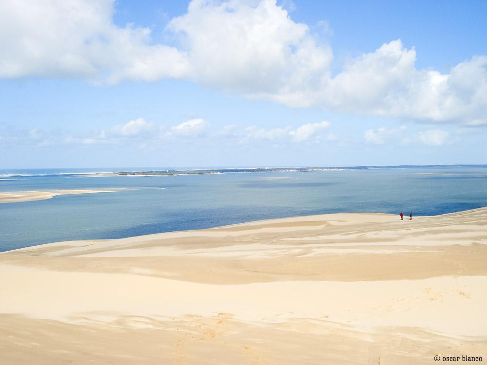 Oscar Blanco. La duna improbable. Relatos viajero.8 - LA DUNA IMPROBABLE