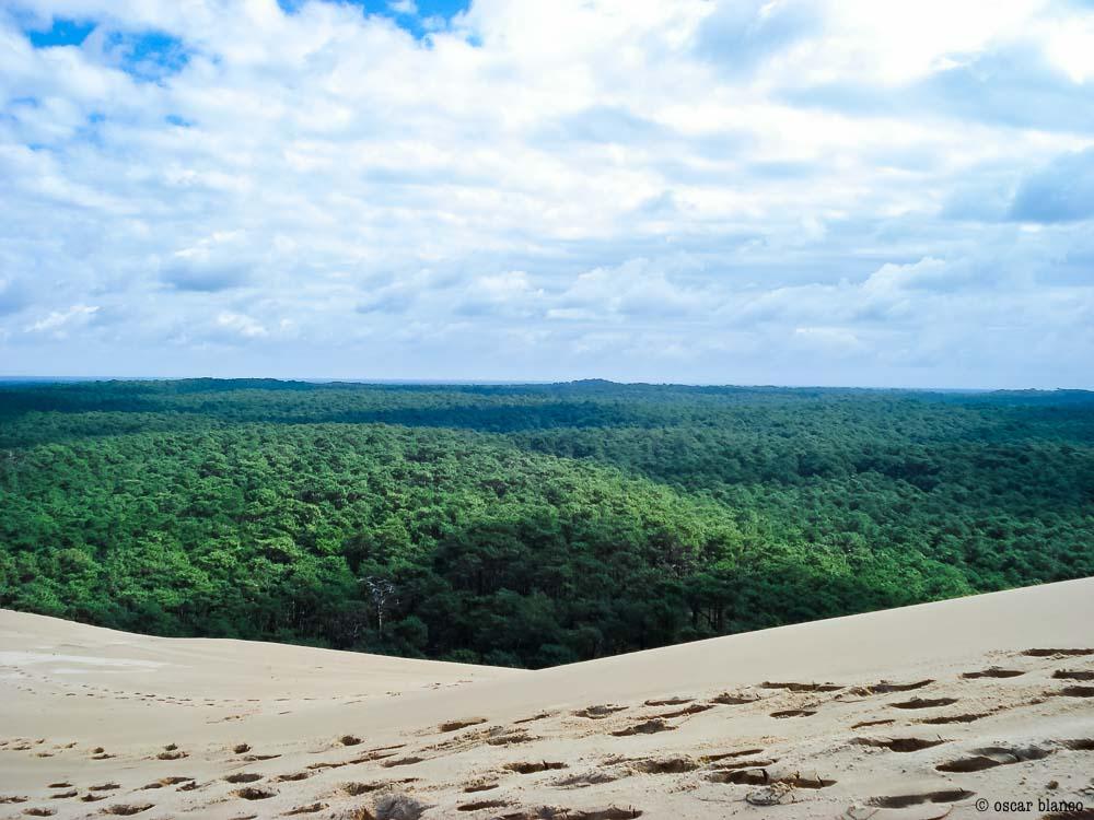 Oscar Blanco. La duna improbable. Relatos viajero.9 - LA DUNA IMPROBABLE
