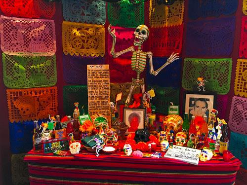 Altar Muertos 2 Mestizo Madrid - FESTIVAL DEL MOLE & DÍA DE LOS MUERTOS EN MESTIZO
