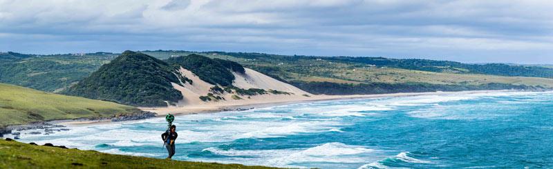 Capturadores de imagen Google Street View Sudáfrica 2 - Google Street View: la nueva forma de conocer los Parques Nacionales de Sudáfrica