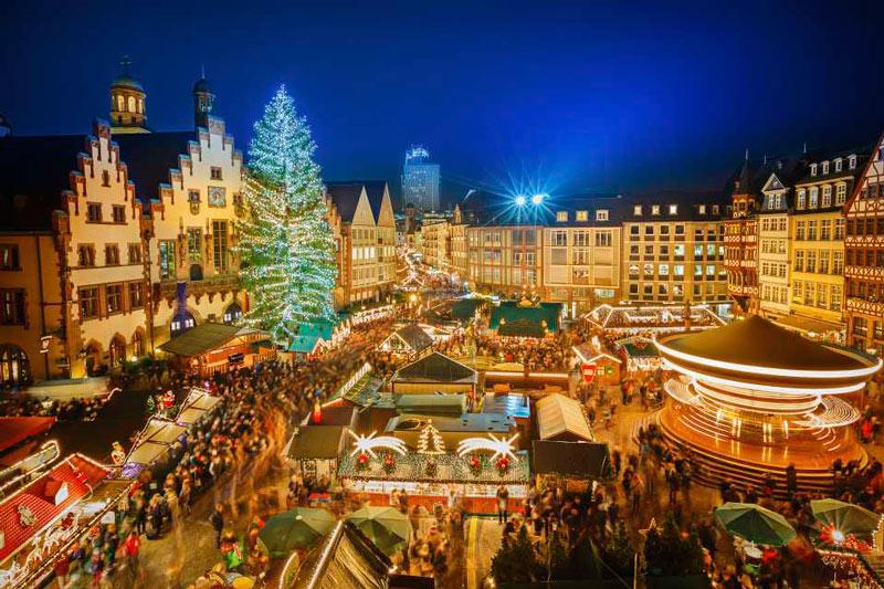 Koningsplein Mercado Navidad Holanda - Los mejores mercados de Navidad entre abetos, belenes y vino caliente