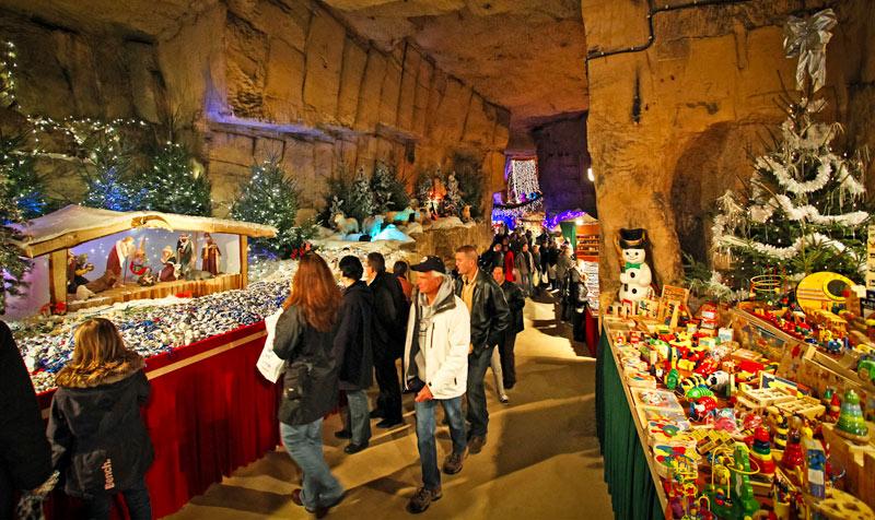 Mercado Navidad Municipal Cave Kerststad ValkenburgKerststad Valkenburg Holanda - Los mejores mercados de Navidad entre abetos, belenes y vino caliente