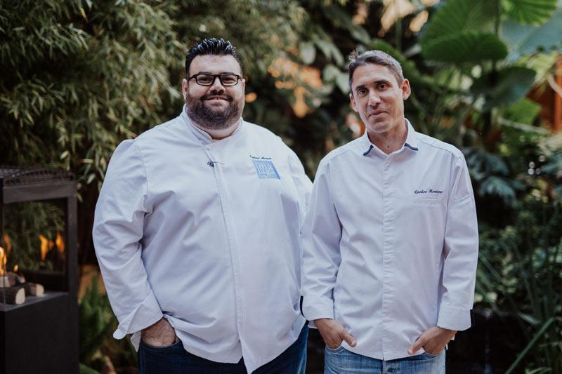 """Richard Alcayde y Carlos Montero. RestauranteMontana - REABRE SUS PUERTAS EL NUEVO RESTAURANTE """"MONTANA"""""""