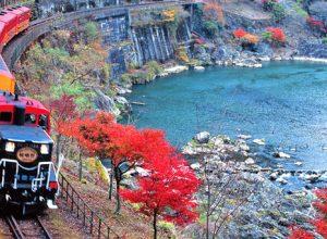 Tren Sagano Japon 300x220 - Revista Más Viajes