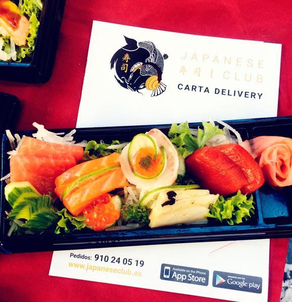 """Japanese Club Restaurante Madrid 4 - """"JAPANESE CLUB"""" ESTRENA SU SERVICIO DE COMIDA A DOMICILIO"""