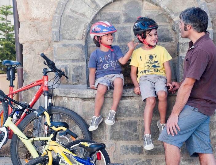 bici en familia - Bici en familia en vías verdes