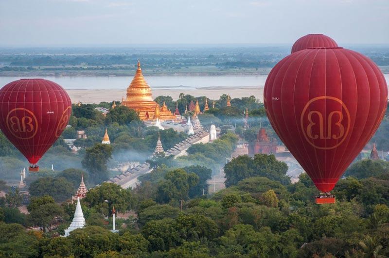 Pagodas globos malasia - La vuelta al mundo en jet privado en 22 días