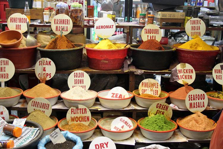 Sudáfrica curry Durban - Las nuevas propuestas de la cocina tradicional de Sudáfrica