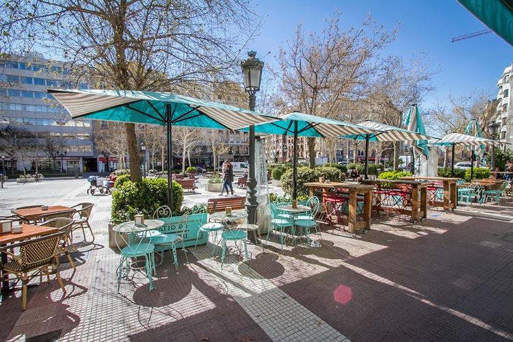 Terraza El Patio de Chamberí restaurante 2 mail - Cómo será el turismo tras la pandemia