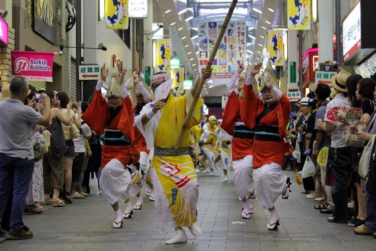 Koenji Awa odori DanceTokio - Un verano tokiota de festival y color