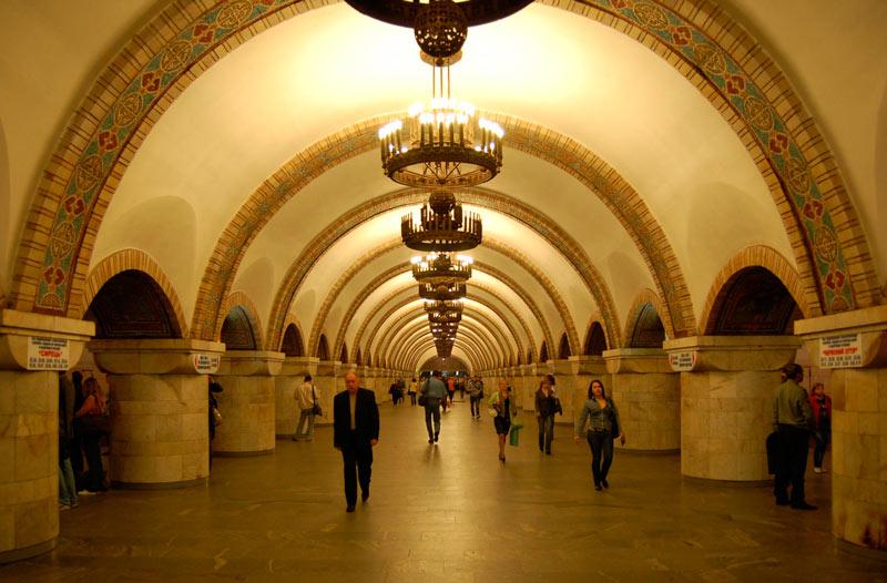 Metro de Kiev 3 Kiev Ucrania - Qué ver en Kiev, antes o después del triunfo del Real Madrid