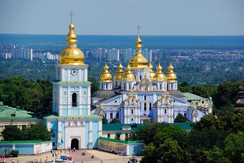 Monasterio de San Miguel 5 Kiev Ucrania - Qué ver en Kiev, antes o después del triunfo del Real Madrid